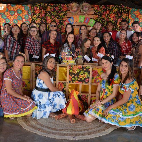 Escola Tio Zezito de Padre Marcos promove 'Arraiá da Leitura'