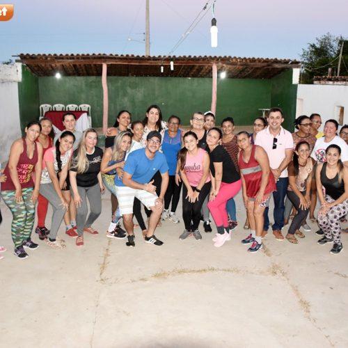 Cultura de Alegrete do Piauí promove primeira aula de Zumba na comunidade Pocinhos