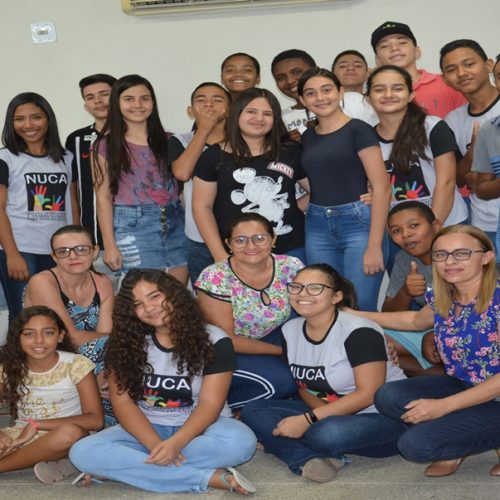 NUCA de Massapê promove atividade do Desafio 2 do Selo Unicef sobre alimentação saudável