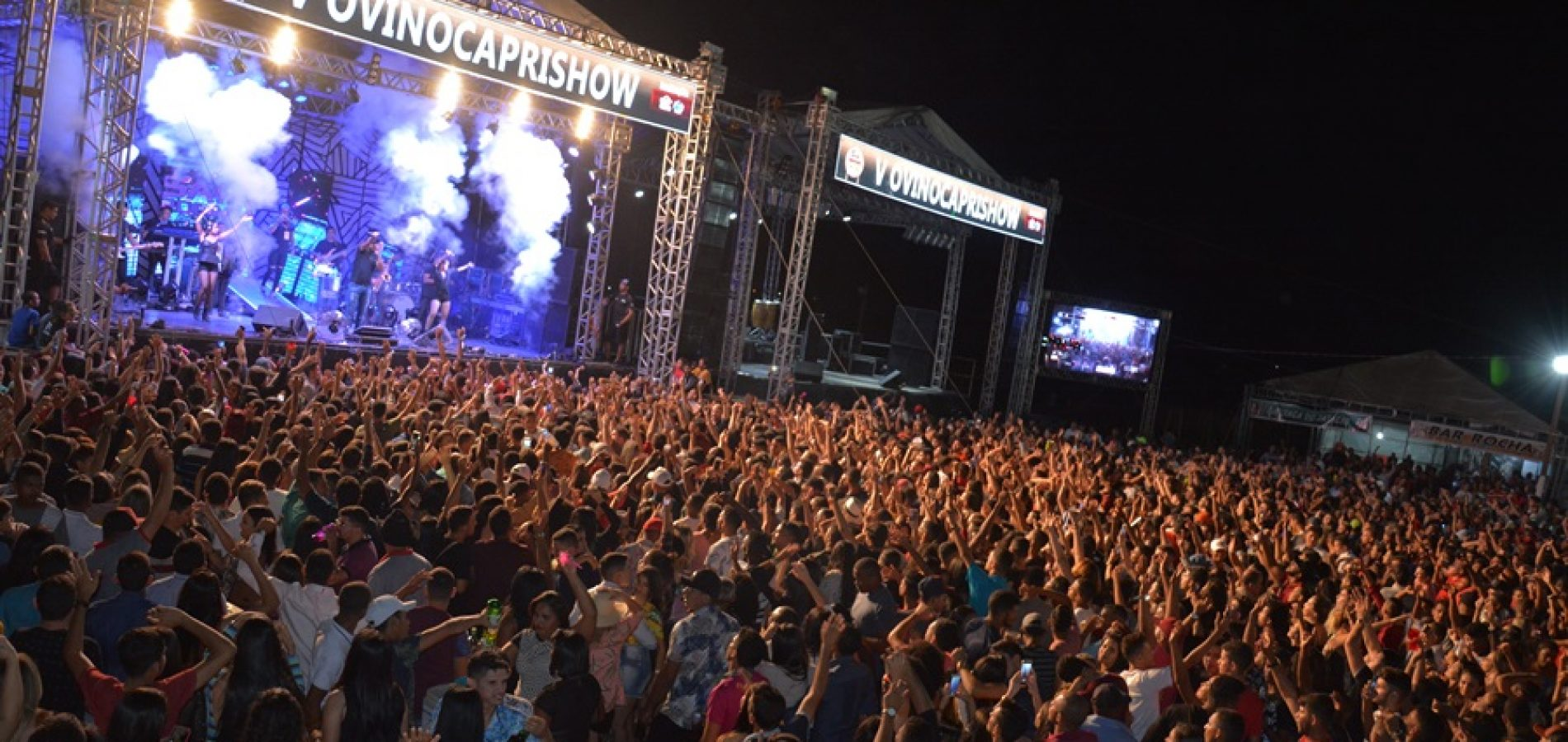 FOTOS   Show da banda Saia Rodada na Ovinocaprishow em Jacobina do Piauí