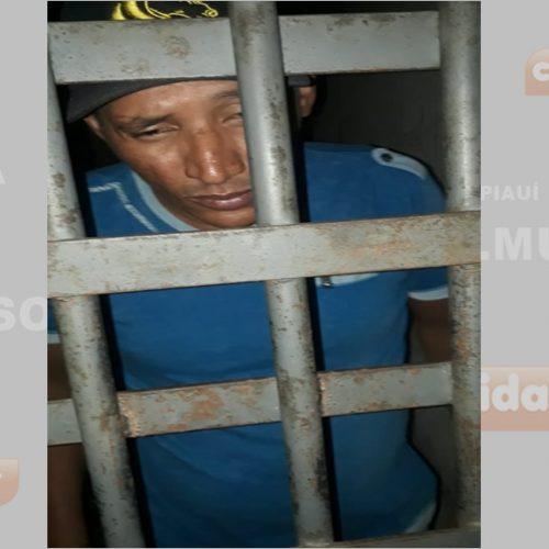 Casal é preso após furtar motocicleta em Campo Grande do Piauí