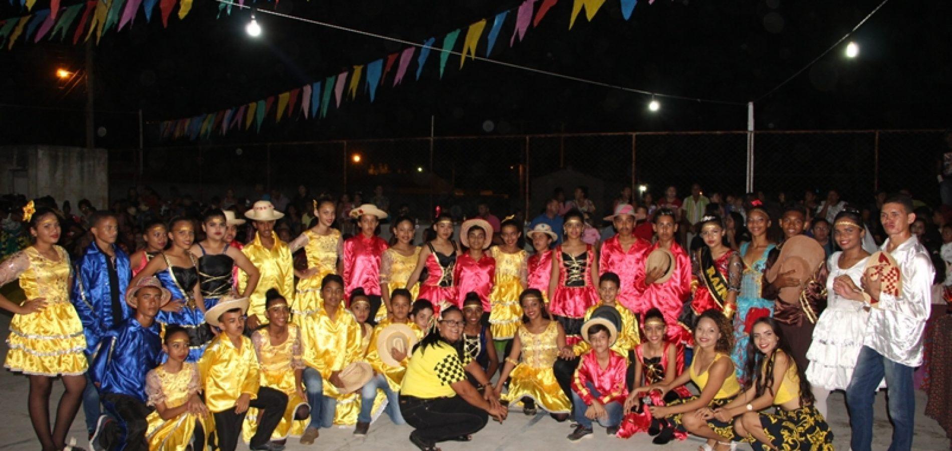 Em Jaicós, Escola Municipal Francisco Crisanto realiza XV Arraiá