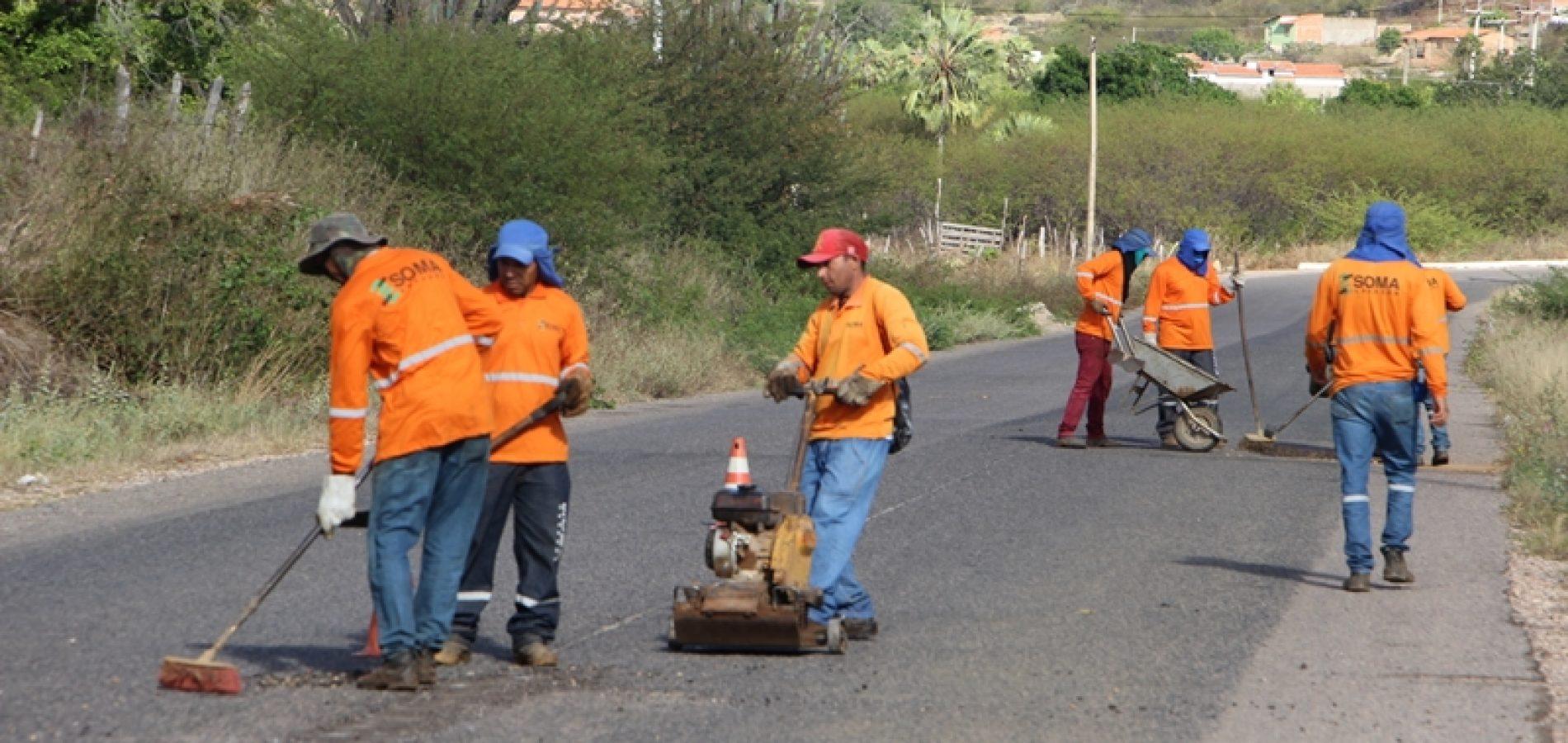 Governo inicia recuperação da PI 243, que interliga as cidades de Jaicós, Belém do PI, Padre Marcos e Francisco Macedo