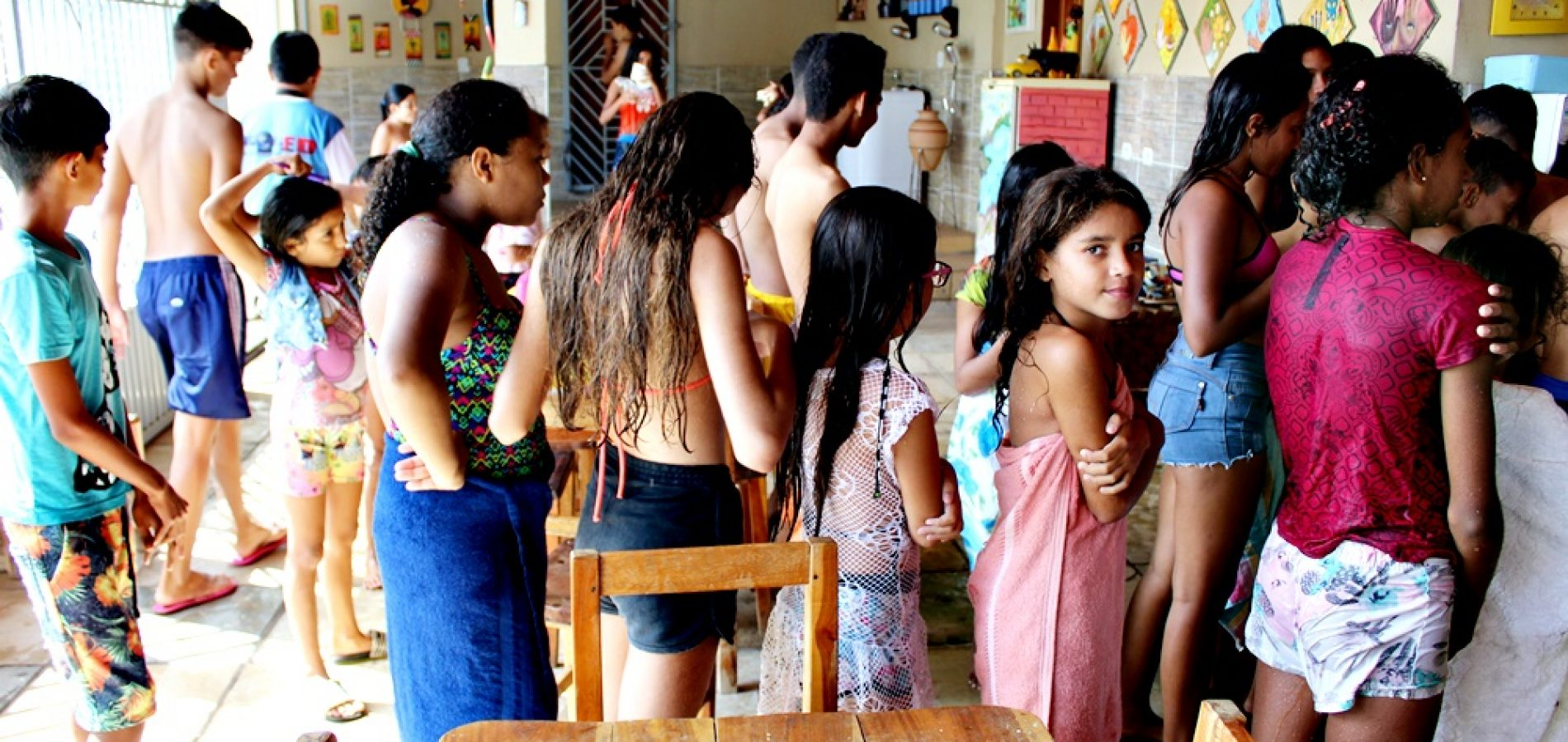 Assistência Social de Santana do Piauí promove manhã de lazer para crianças do SCFV