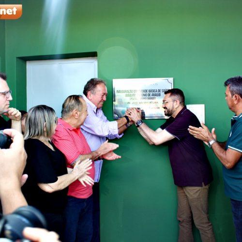 Prefeitura de Picos entrega UBS à comunidade Morro Grande, zona rural do município