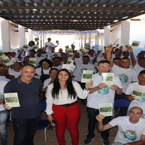 Fundação do Partido Verde discute política cidadã e meio ambiente em Santa Filomena; Deputada Teresa Britto participa