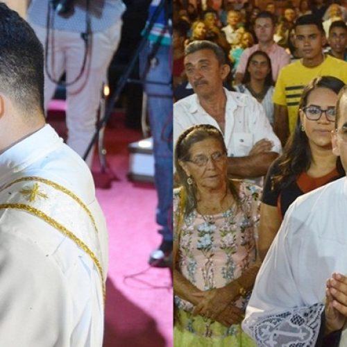 Em cerimônias realizadas em Paulistana e Santa Cruz do PI, Claudio Santana e Ramires Barros são ordenados padres
