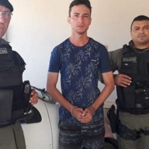 Polícia Militar de Campo Grande do PI recupera motocicleta furtada no Ceará e prende suspeito