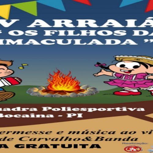 BOCAINA | Pastoral da Juventude promove Arraiá e Ação Social nesta sexta(05). Participe!