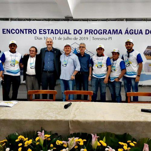 Gestores de Vila Nova do Piauí participam do 3º Encontro Estadual do Programa Água Doce em Teresina