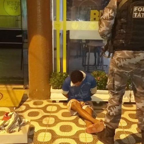 Homem é preso após furtar o Brownie do Gi, em Picos
