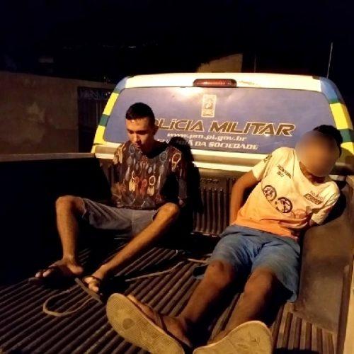 Em Picos, dupla é presa por porte de arma de fogo