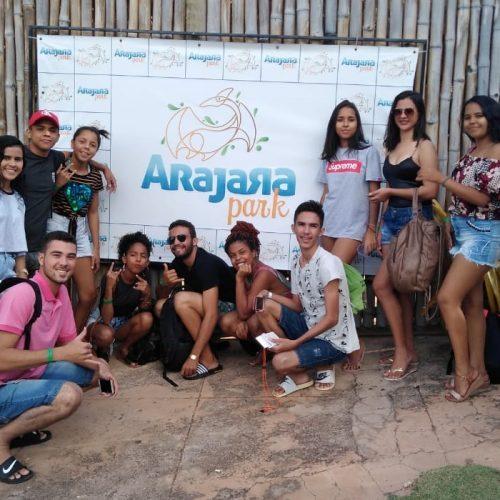 JAICÓS | Adolescentes do NUCA participam de dia de lazer no Arajara Park