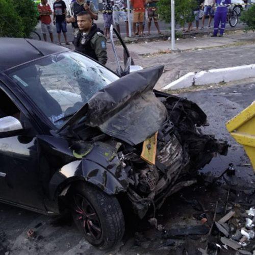 Motorista morre após colidir com caçamba de entulho no Piauí