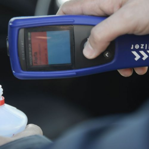 Álcool gel altera o resultado do bafômetro? PRF esclarece polêmica!