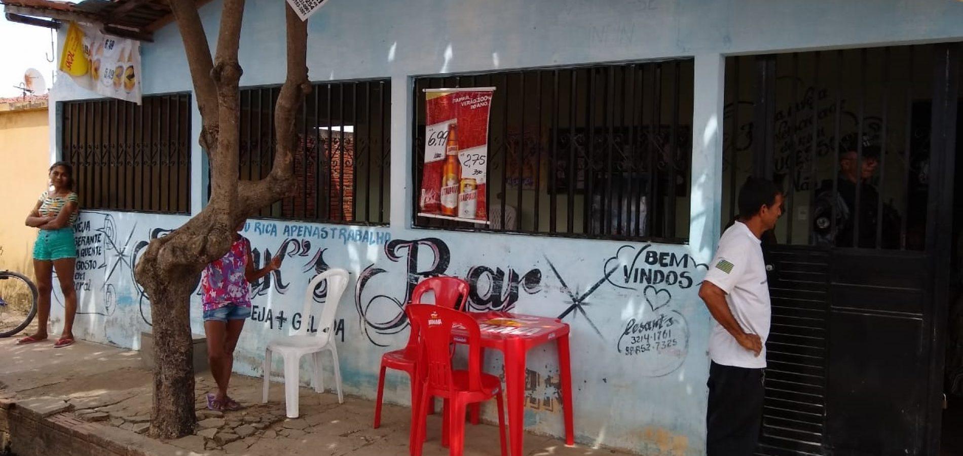 Casal é baleado por homens dentro de bar no Piauí