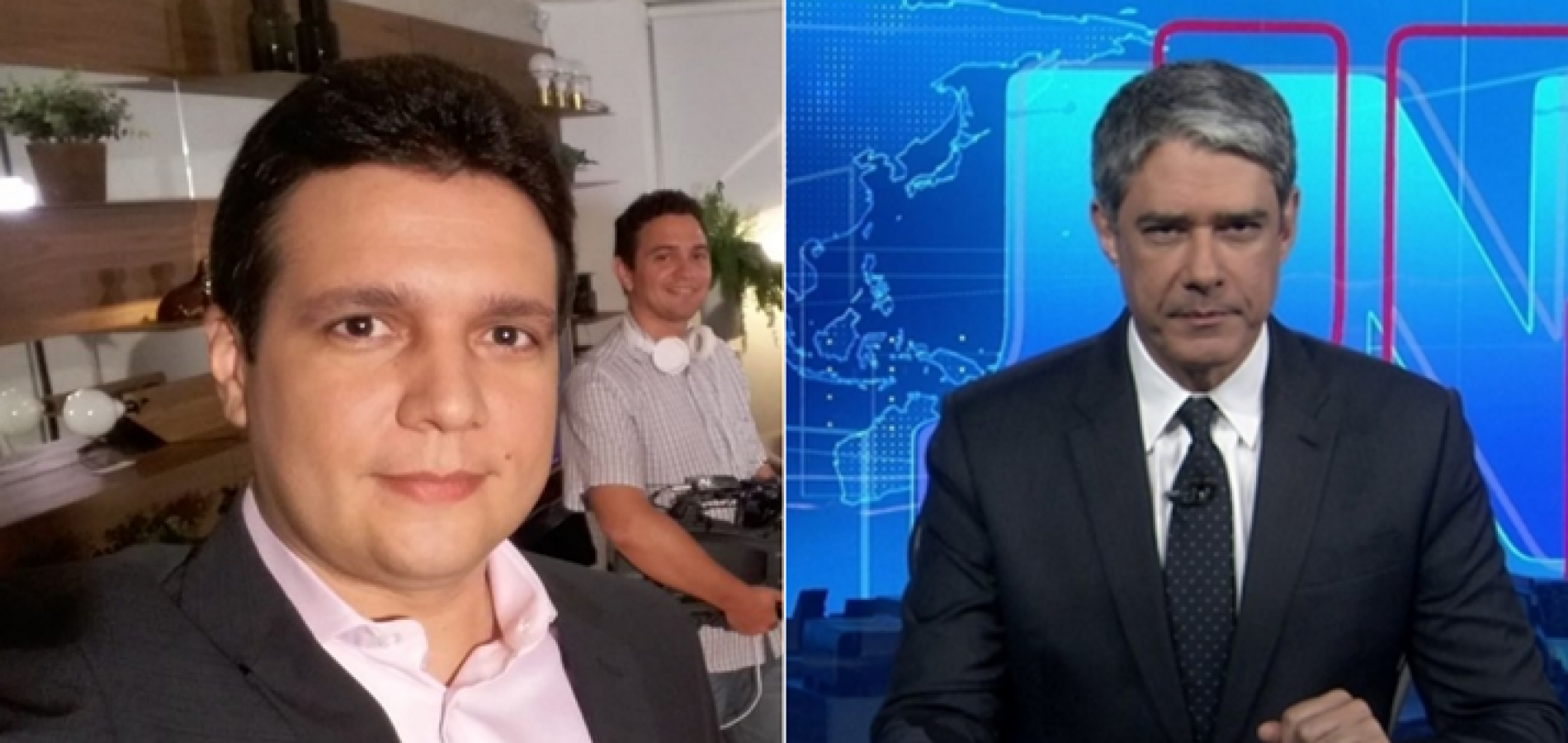Marcelo Magno é o escolhido por William Bonner para apresentar Jornal Nacional