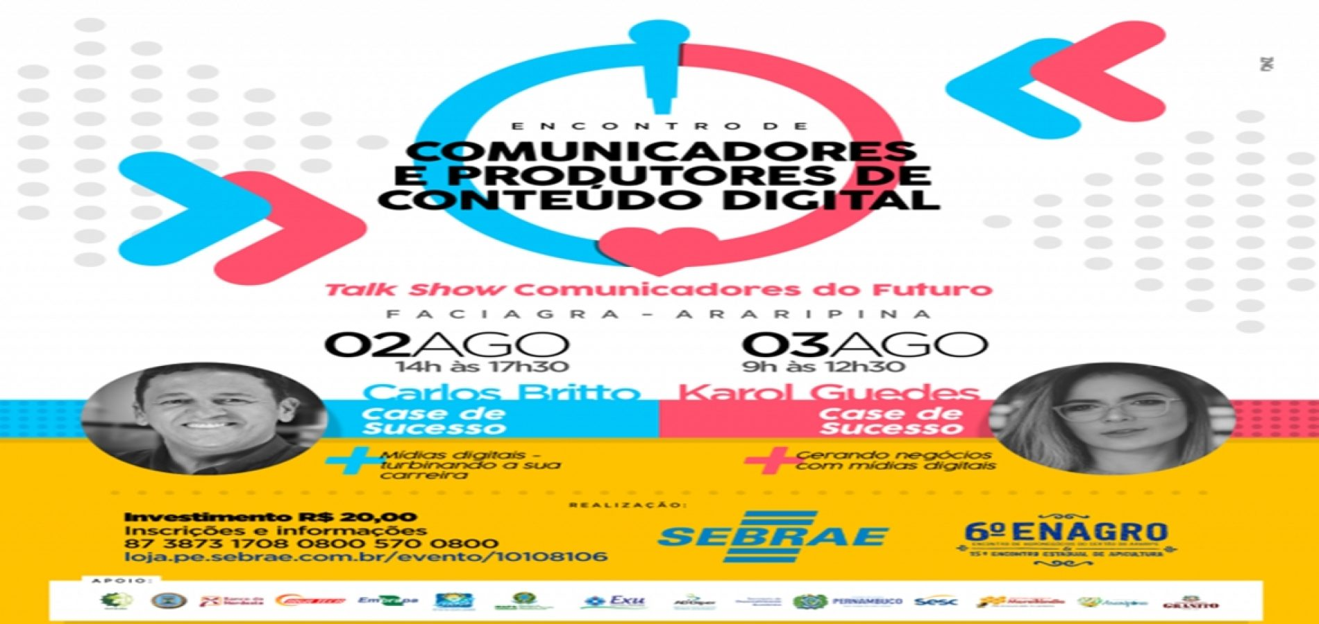 Sebrae de Araripina-PE promove encontro para comunicadores e influenciadores digitais