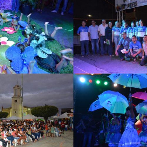 SIMÕES 65 ANOS | I Feira Literária das Escolas Municipais encerra 1° dia das festividades
