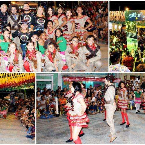Grupo AJA de Vila Nova do Piauí se apresenta no 7º Festival de Quadrilhas em Monsenhor Hipólito