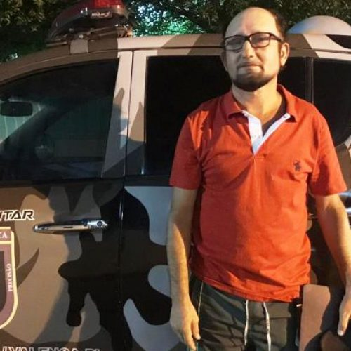 PM de Valença do Piauí cumpre mandado contra acusado de homicídio em São Paulo