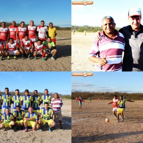 Amistoso entre as seleções de veteranos de Alegrete e Francisco Macedo é realizado com sucesso