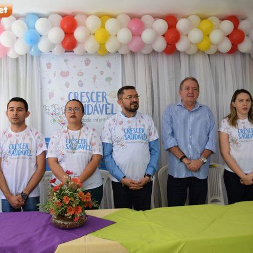 """Saúde de Picos lança projeto """"Crescer Saudável"""" no combate à obesidade infantil"""