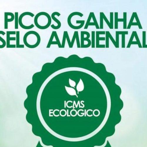 Após muito trabalho, Prefeitura de Picos recebe, pela primeira vez, Selo Ambiental de ICMS Ecológico