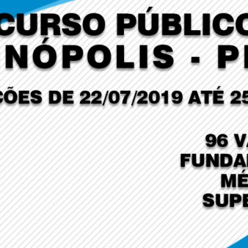 Prefeitura de Itainópolis divulga edital de concurso com 96 vagas e salários de até R$ 3,5 mil