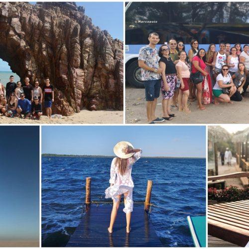 'Joelma Viagens' inicia mês das férias com passeio em Jericoacoara; veja imagens