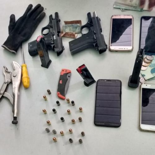 PM prende três suspeitos de assalto no interior do Piauí