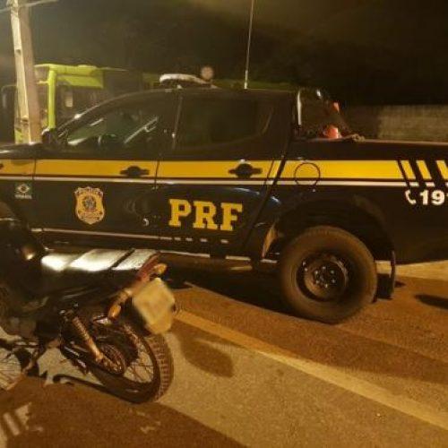 PRF apreende moto com mais de R$ 13 mil em débitos e multas no Piauí