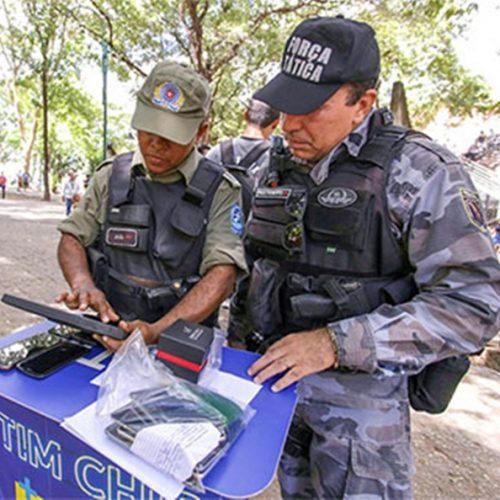 Operação apreende celulares em praça no PI e PM promete fim de comércio ilegal