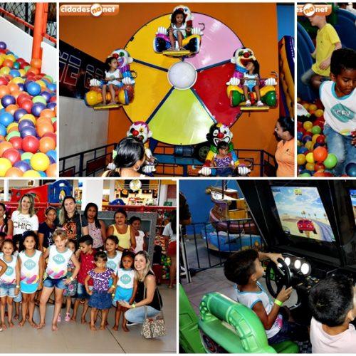 Assistência Social de Santana promove tarde recreativa no Piauí Shopping para 25 crianças do Infância Feliz