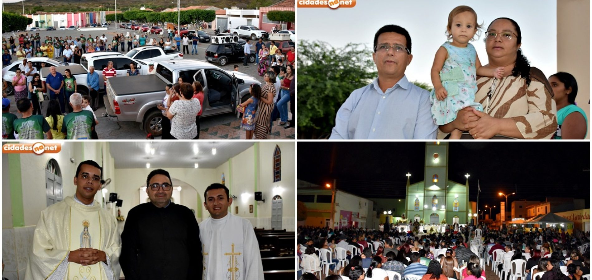 Carreata partindo de Caldeirão Grande e missa abrem o 54º festejo de São Cristóvão, padroeiro de Marcolândia