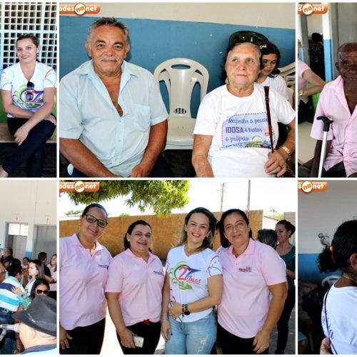 Assistência Social de Santana promove domingo de lazer aos grupos Viva a Vida e GEAV no Forró dos Idosos em Inhuma