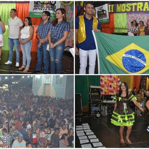 II Mostra Cultural em Francisco Santos é realiza com muito brilhantismo