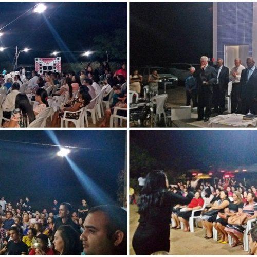 VILA NOVA | Assembleia de Deus inaugura Templo de Congregação em localidade pioneira na Pregação do Evangelho