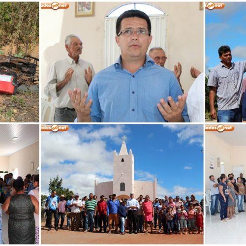 CALDEIRÃO GRANDE│Bispo Dom Plínio visita comunidade Serra dos Pereiros e denuncia descaso após homem morrer eletrocutado; fotos
