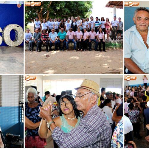 Veja fotos do Grupo Viva a Vida e GEAV de Santana do Piauí no Forró dos Idosos em Inhuma