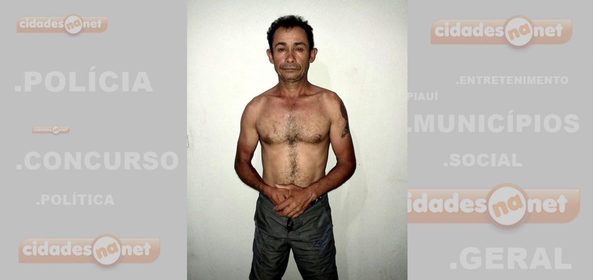 Homem é preso após arrombar residência em Fronteiras