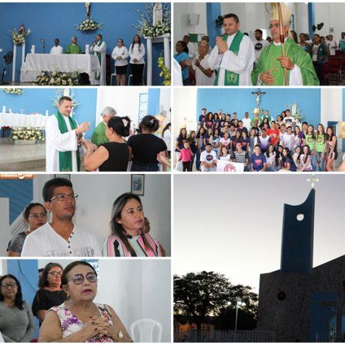 ALEGRETE│Missa acolhe missionários na Primeira Visita Pastoral ; veja fotos