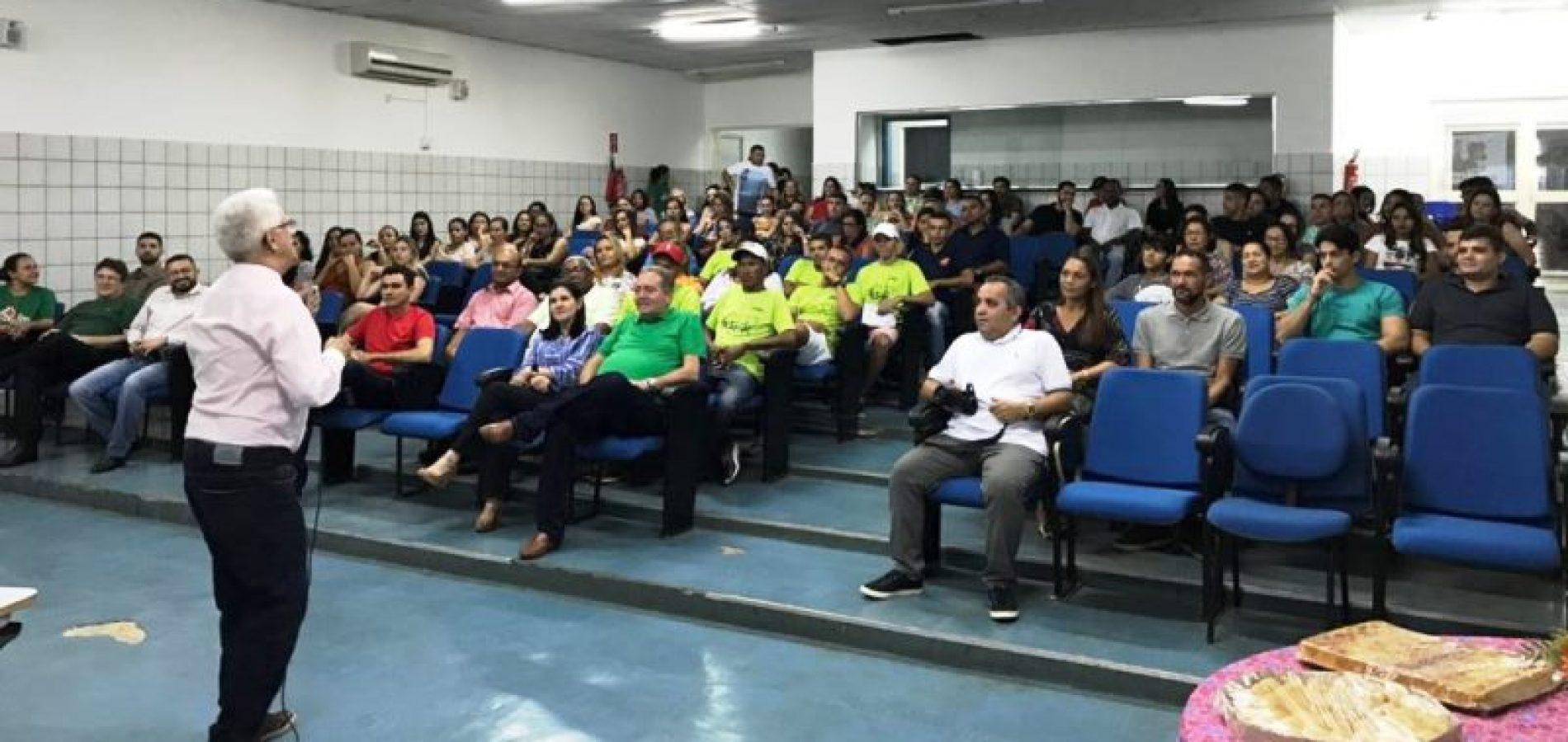 Saúde De Picos Realiza Palestra Motivacional Para
