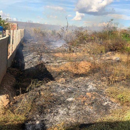 Bombeiros registram aumento do número de queimadas em Picos