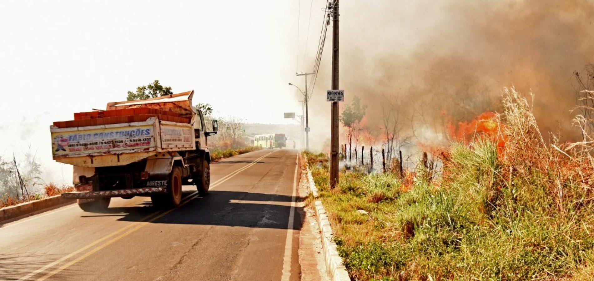 Piauí: focos de queimadas aumentam 407% no mês de junho