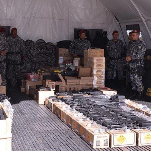 Segurança do Piauí recebe doação de materiais do Ministério da Justiça