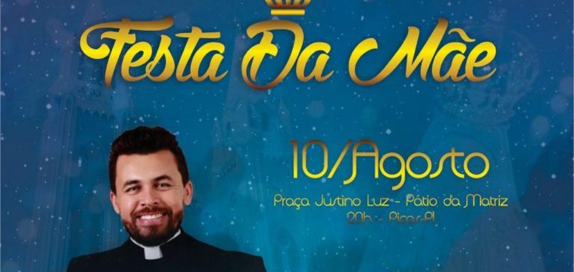 Prefeitura de Picos realizará show católico com Padre Jardel e Banda Mais Fides