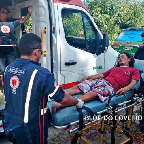 Suspeito fratura o pé ao tentar fugir da PM pulando muro de cemitério no Piauí