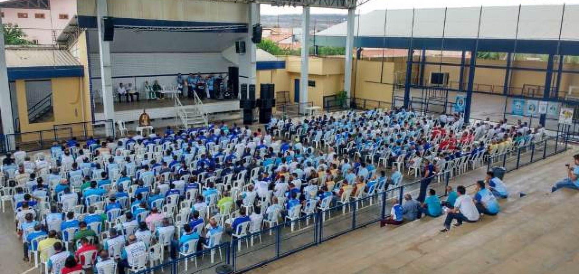 Mais de 500 homens participam do 11° Encontrão do Terço dos Homens em Picos