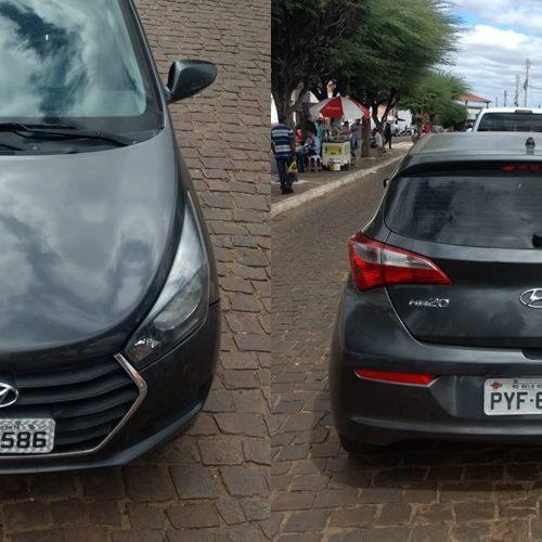 Polícia recupera veículo de locadora em Paulistana